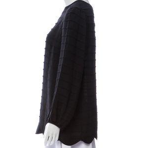 Tory Burch Tops - Tory Burch Black Silk Blouse Size 4